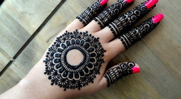 Mehndi Designs Latest New Style : Simple mehndi designs in new style