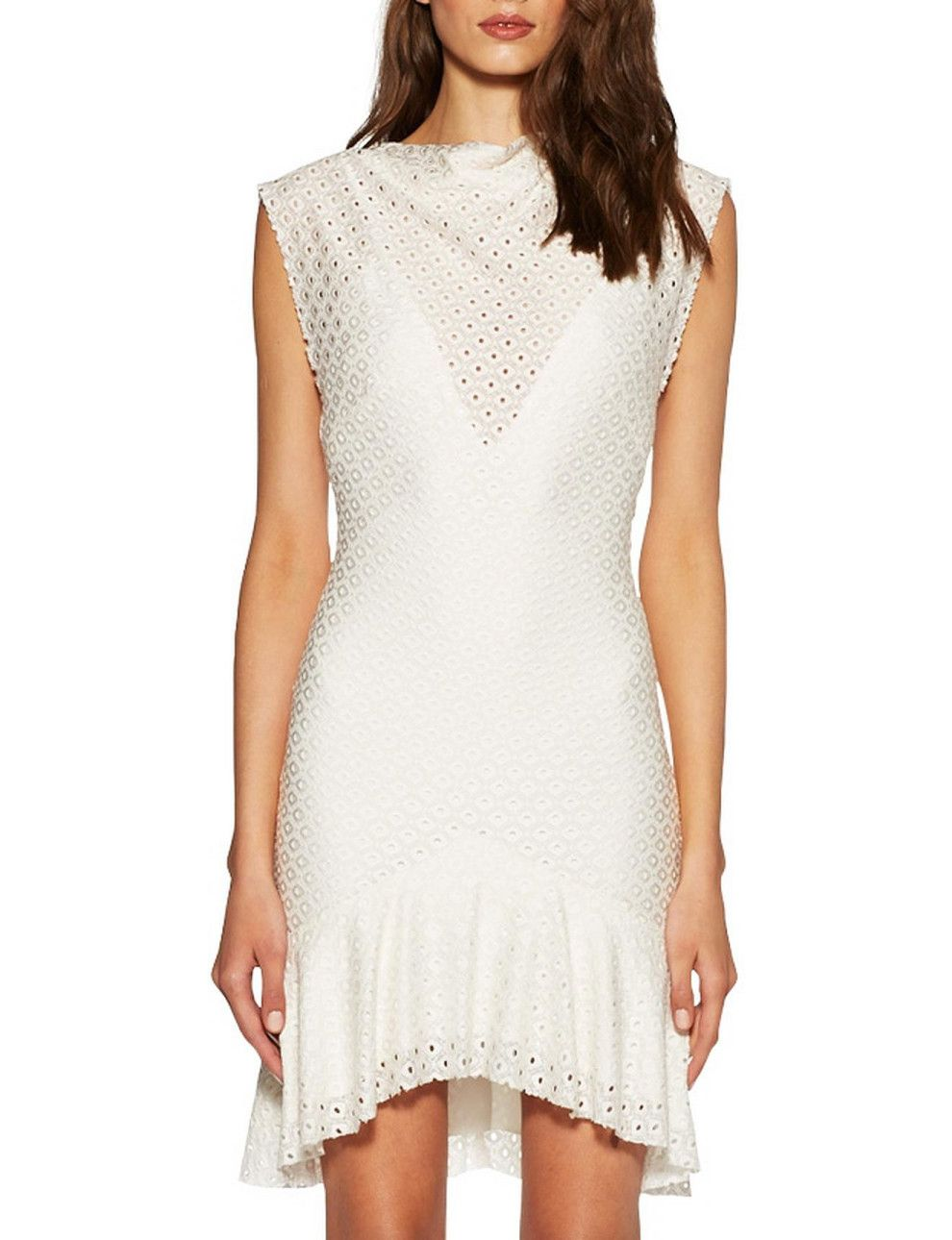 White dress david jones - Nazar Dress David Jones