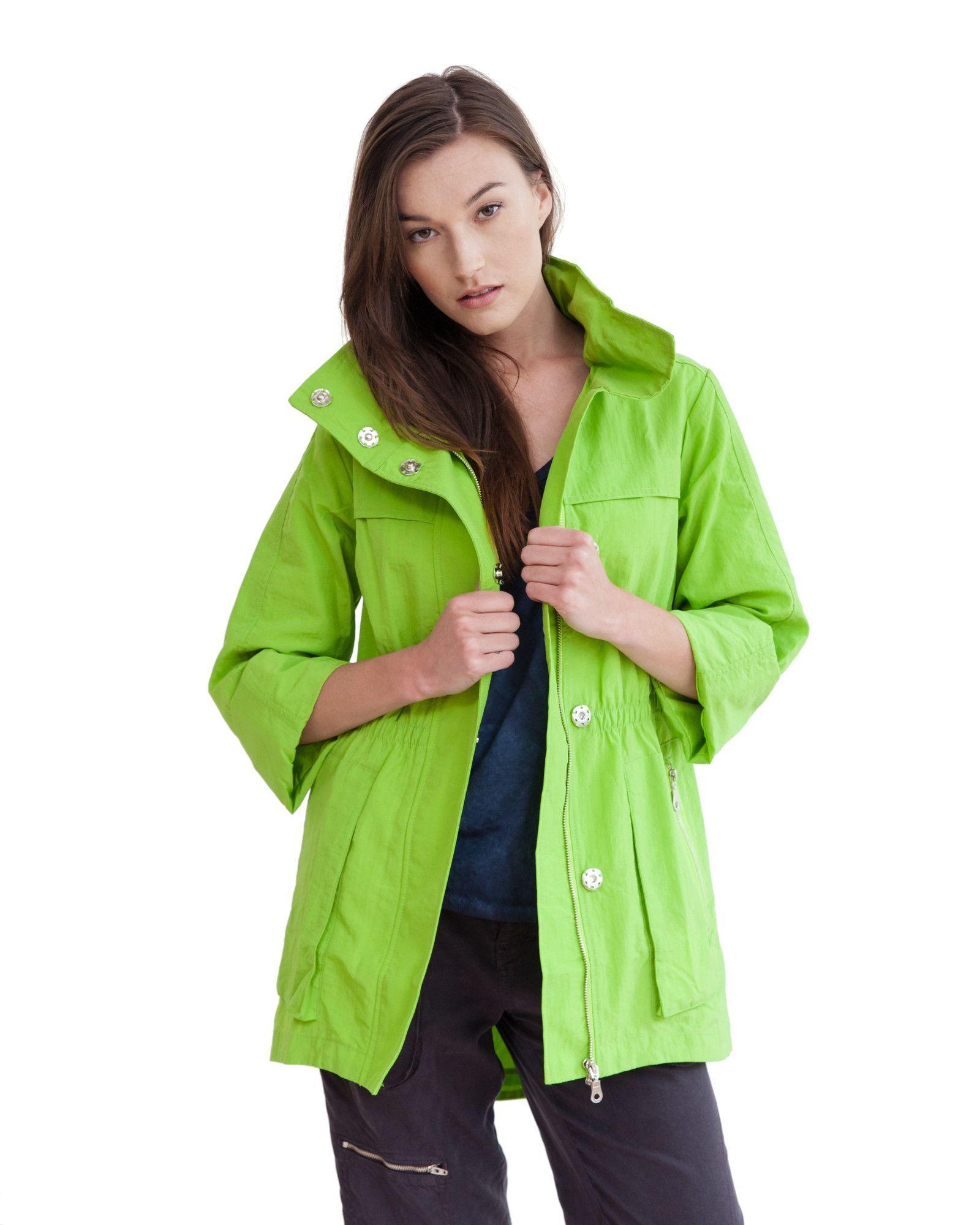 de5a3f3e07db6 The Anorak - Crinkle Nylon   A splash of color   Anorak jacket ...
