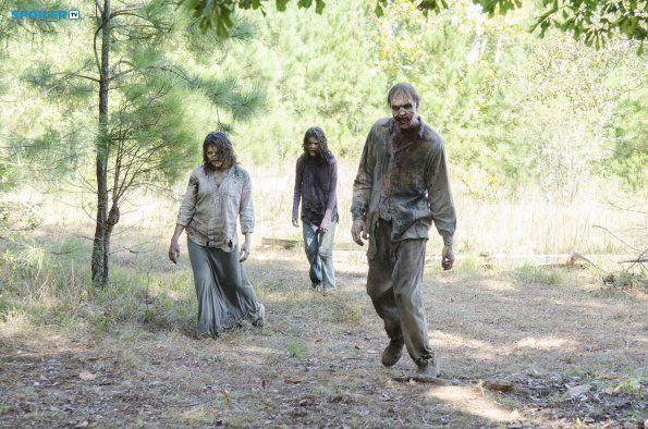 The Walking Dead 5x12 BTS