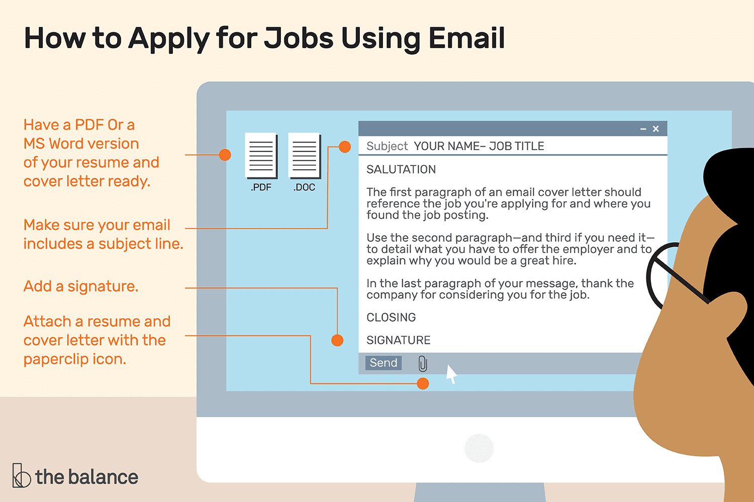 How to Apply for Jobs Using Email in 2020 Email cover