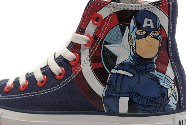 Converse Captain America High Tops The Avengers