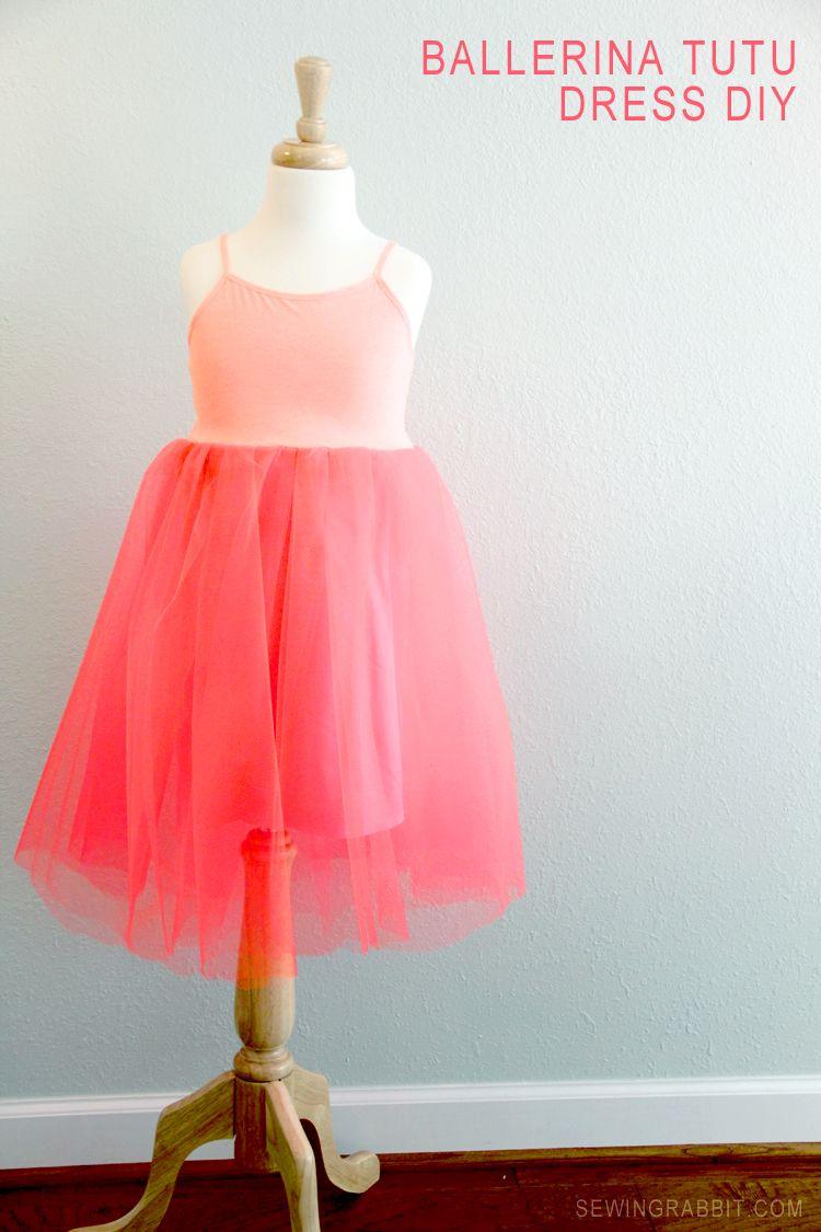 ballerina tutu dress diy