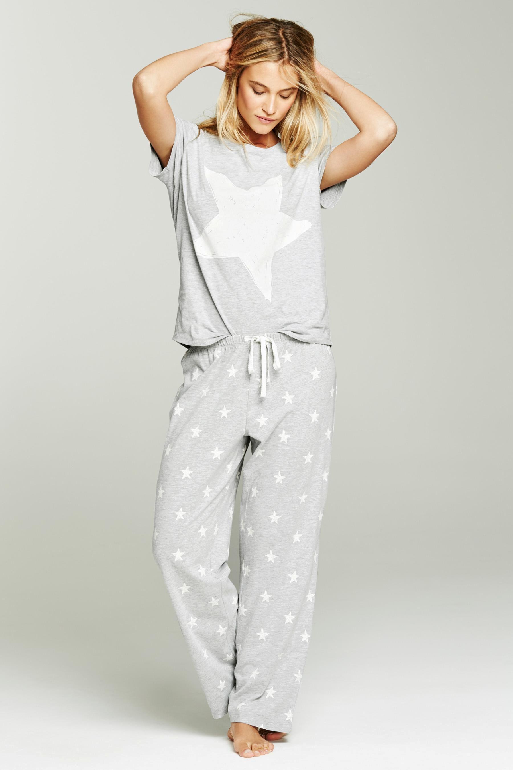 Comprar Pijama Gris Con Estrellas Online Hoy En Next Espana