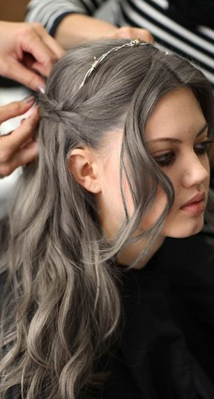 Bold but Wearable Hair Colors to Try this Year | Gray hair, Hair ...