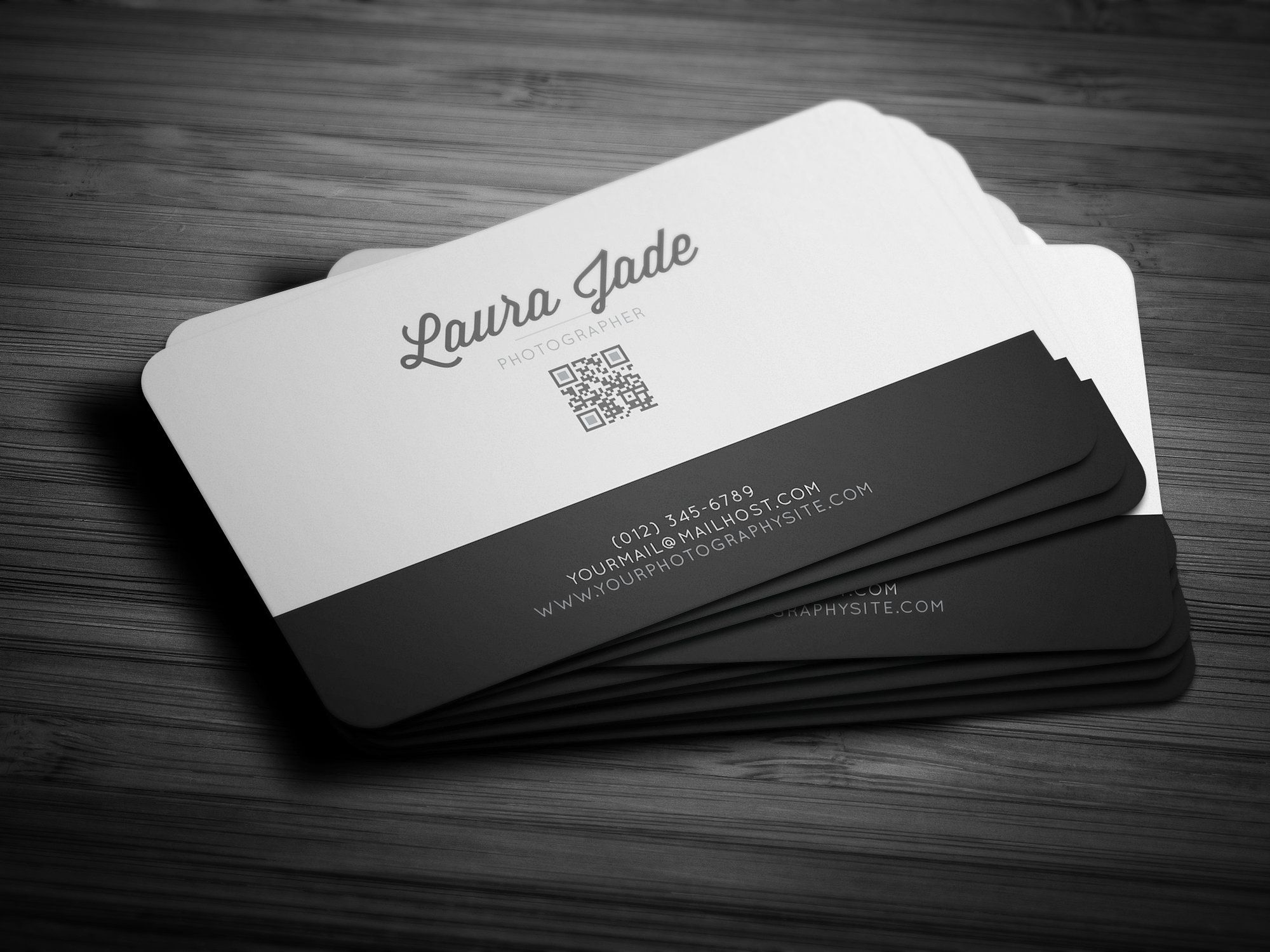 Impression Business Card Round Business Cards Double Sided Business Cards Business Card Template