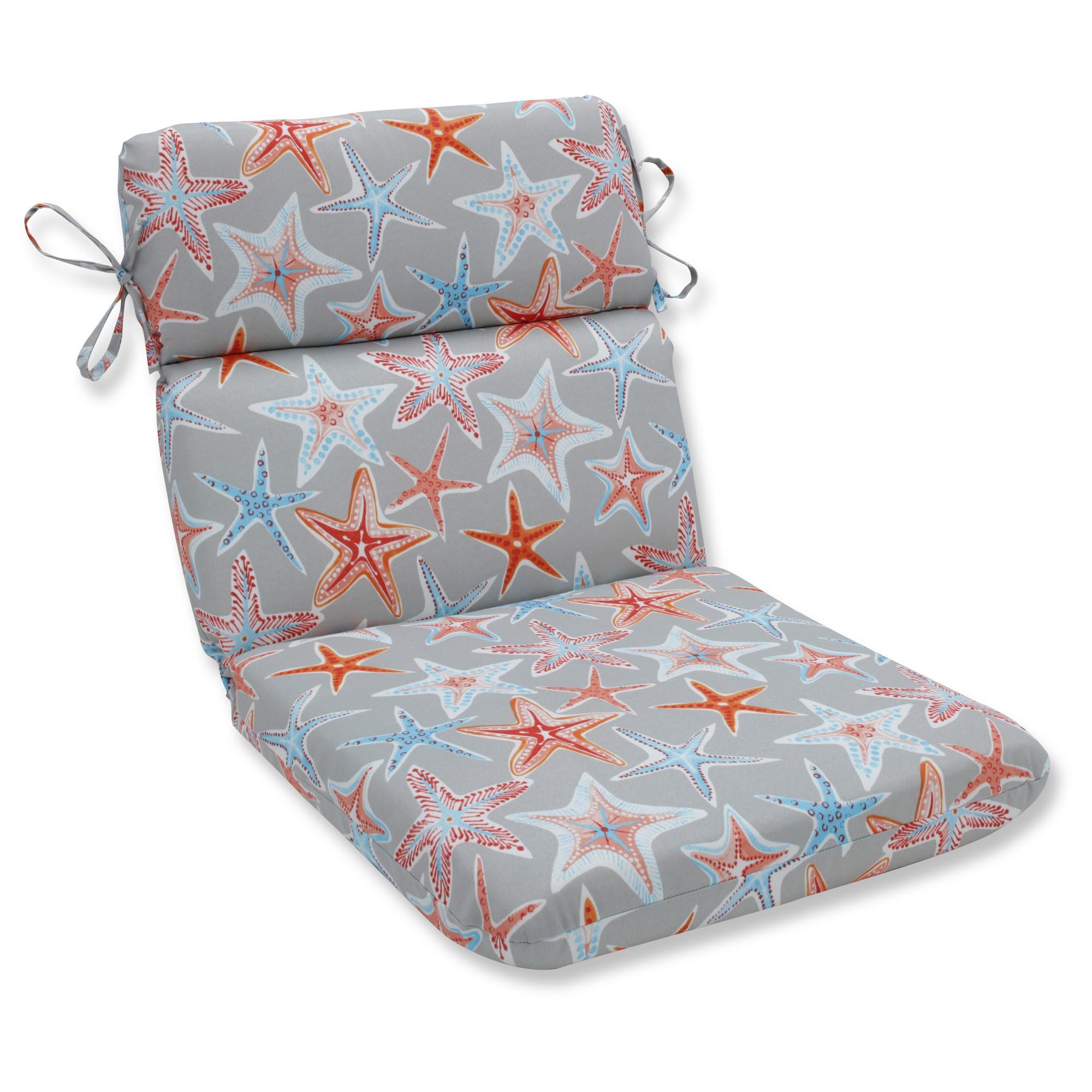 Outdoor/Indoor Stars Collide Gray Rounded Corners Chair
