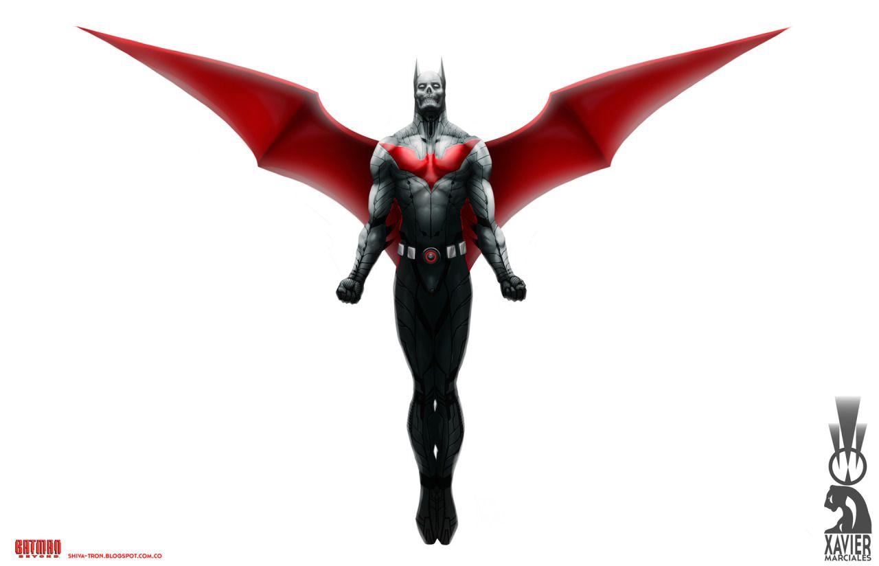 Batman Beyond by Xavier Marciales https://www.artstation.com/artist ...