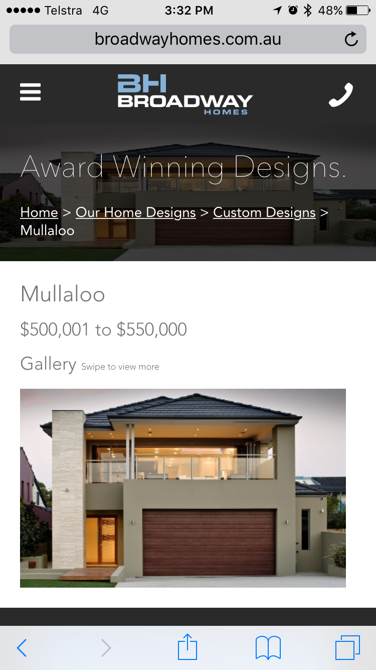 Mullaloo Broadway Homes ~12.5m frontage house | Future Home Design ...