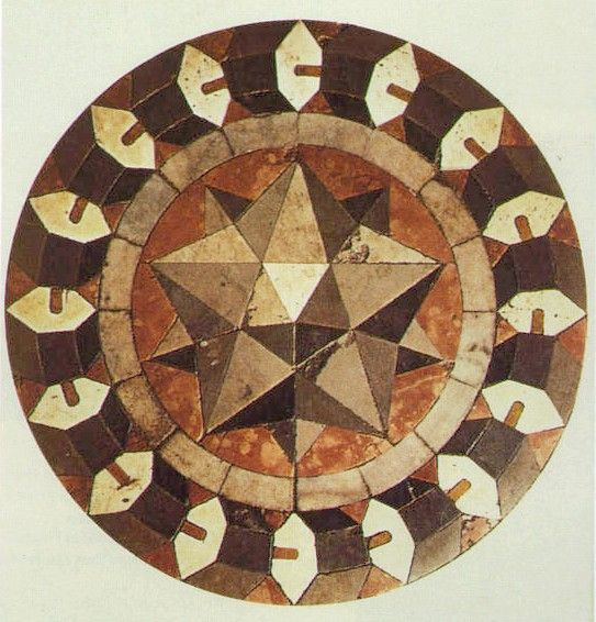 St Mark's Basilica, Venice Floor mosaic by Paolo Uccello, So beautiful! i would like to be able to copy it with fabrics!