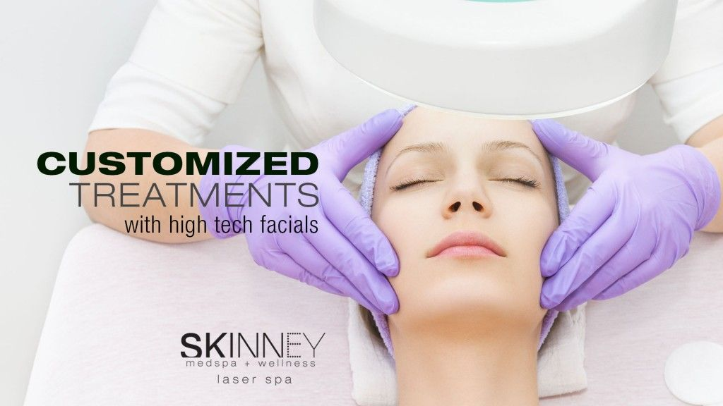 High Tech Facials Are The Ultimate In High End Skincare Skinney Medspa Facial Skin Mapping Med Spa