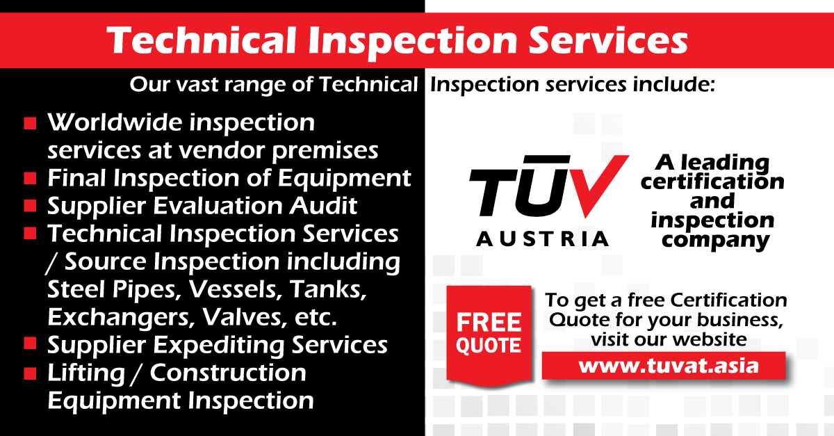Tuv Austria  Technical Inspection Services No Compromise On