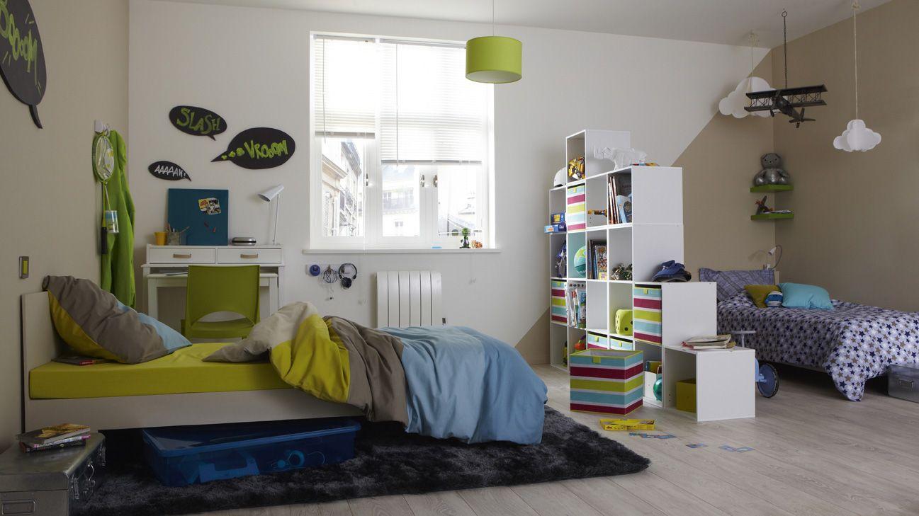 une chambre pour 2 chacun son espace enfants et ados pinterest cases sons and ps. Black Bedroom Furniture Sets. Home Design Ideas