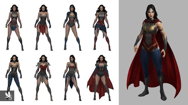 Artstation Injustice 2 Characters Atomhawk Design Wonder Woman Art Wonder Woman Injustice 2 Characters