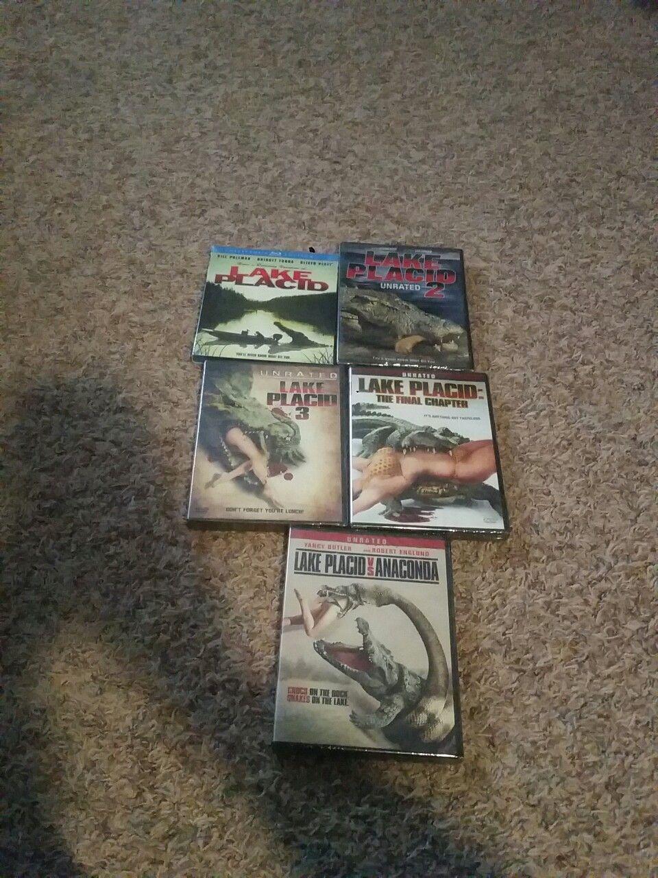 Anaconda Vs Lake Placid Full Movie got these in the mail last monday. lake placid 1, 2, 3, the