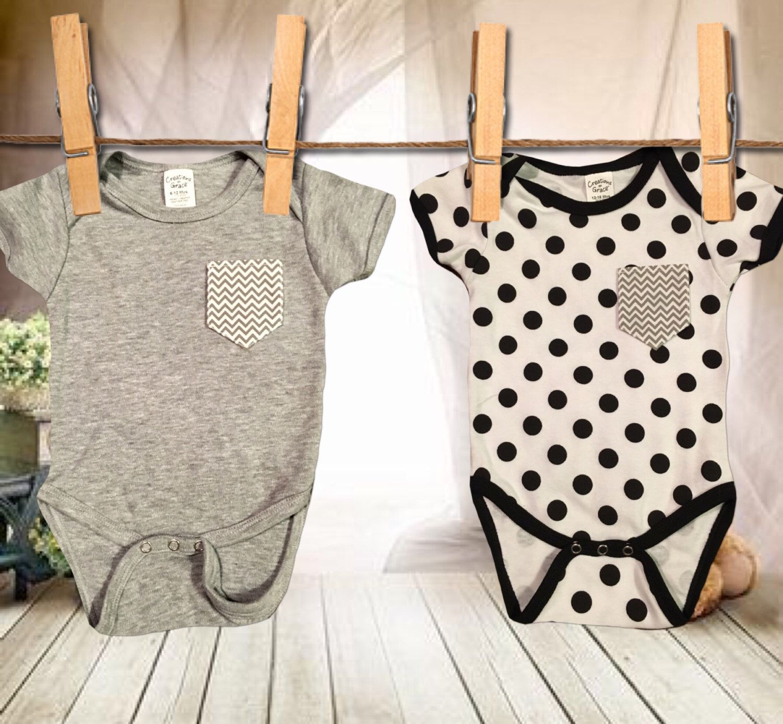 Baby Boy/Girl Pocket Onesie by FunZiesCo on Etsy https://www.etsy.com/listing/293735117/baby-boygirl-pocket-onesie