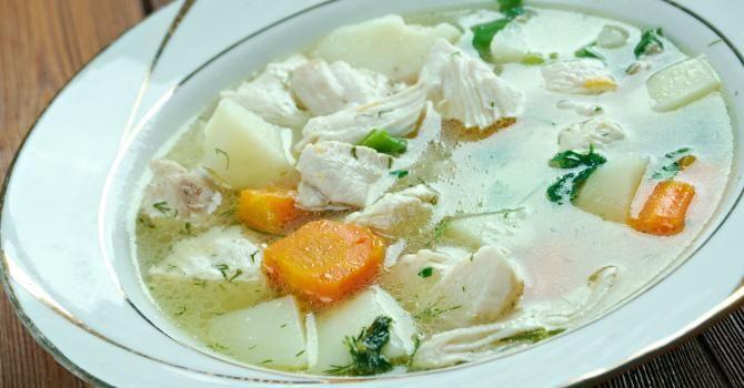 Recette de Waterzoï de poulet. Facile et rapide à réaliser, goûteuse et diététique. Ingrédients, préparation et recettes associées.