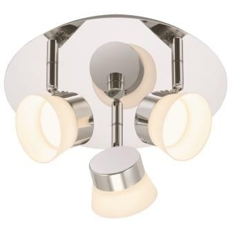 Keria Luminaires, lumière, éclairage, salle de bain, plafonnier 3 ...