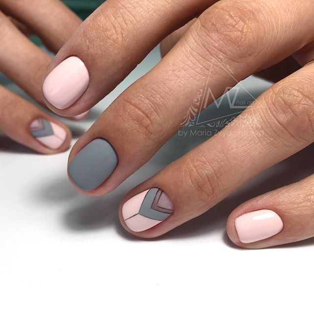 tribal nails nail art