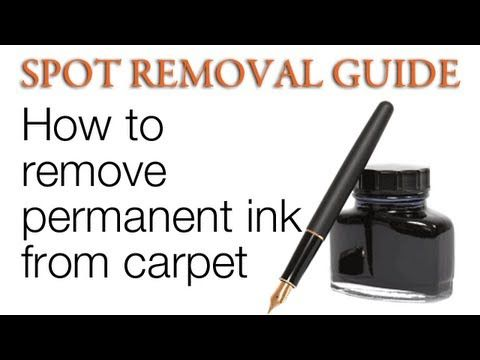 Remove Permanent Marker Ink Stain Removal Cleaning Hacks How