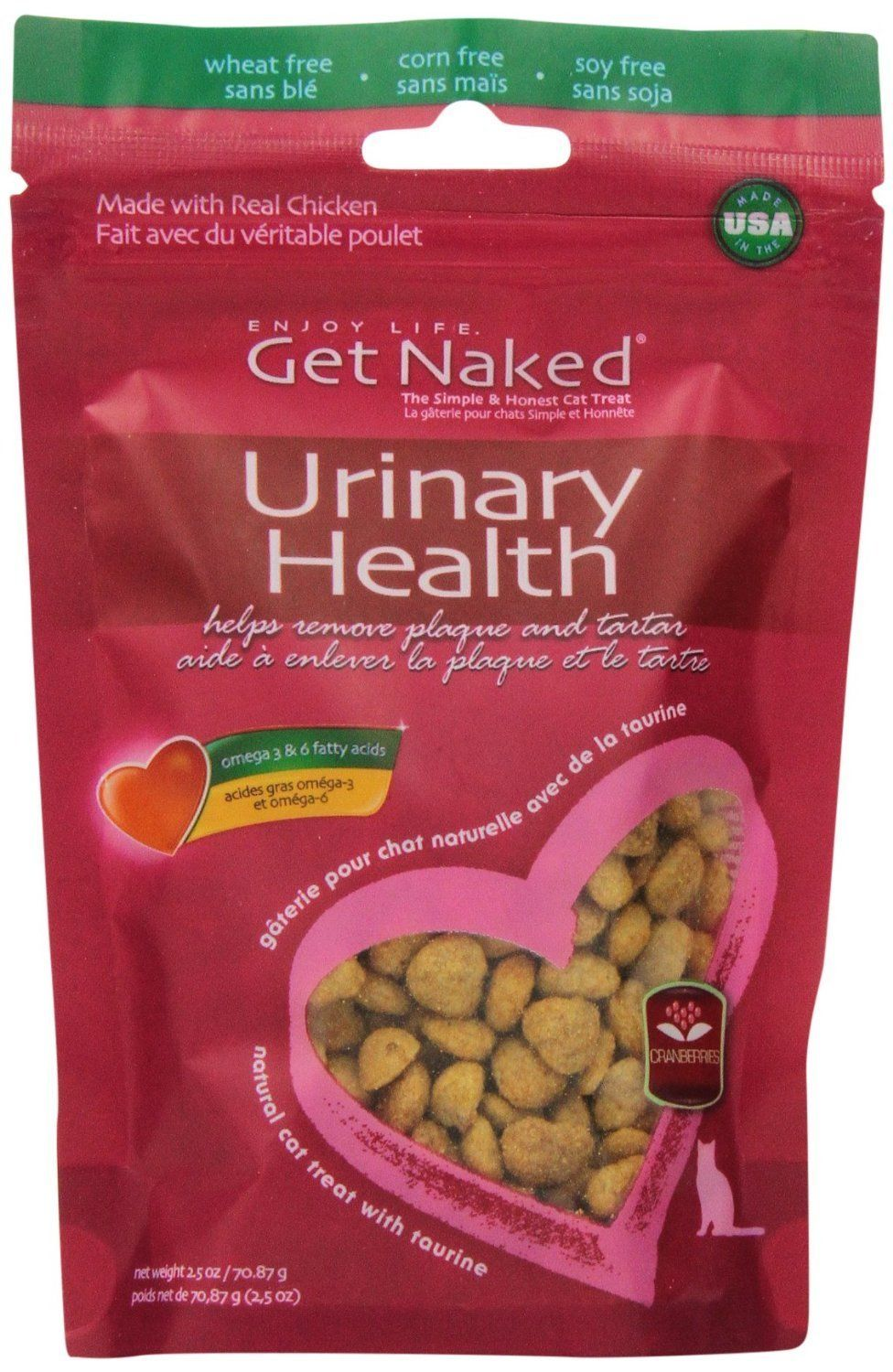 Cats urinary health crunchy treats chewing helps remove
