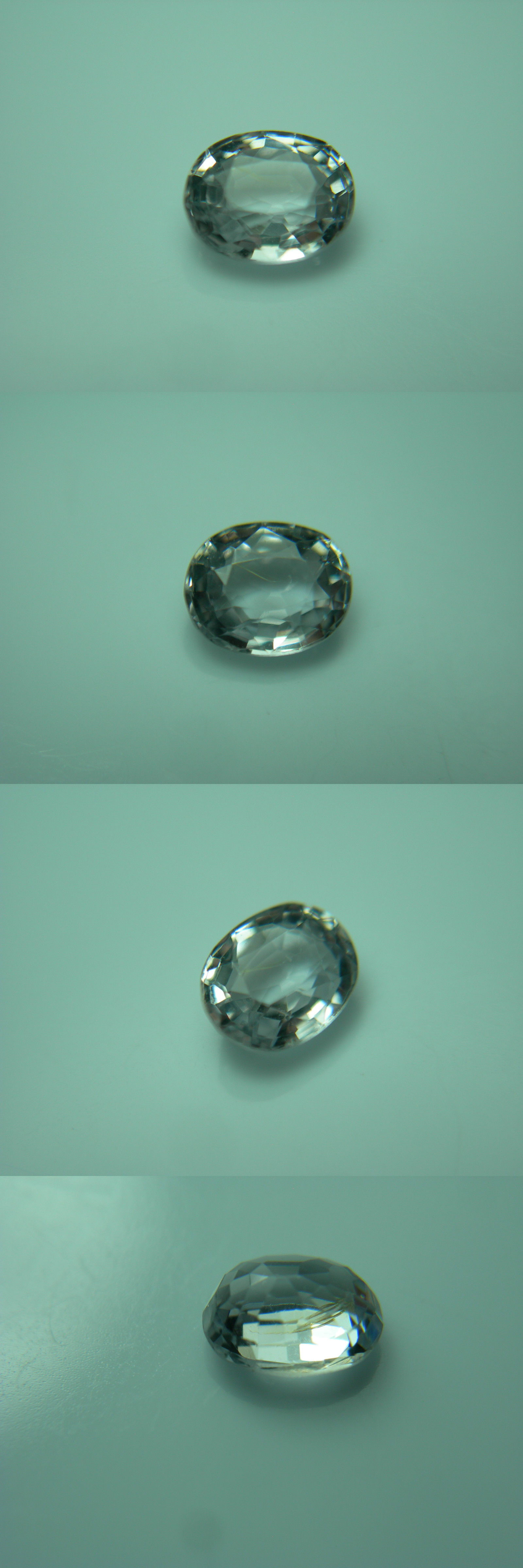 Spinel 110873: Very Rare Near Colorless Spinel Gem Natural ...