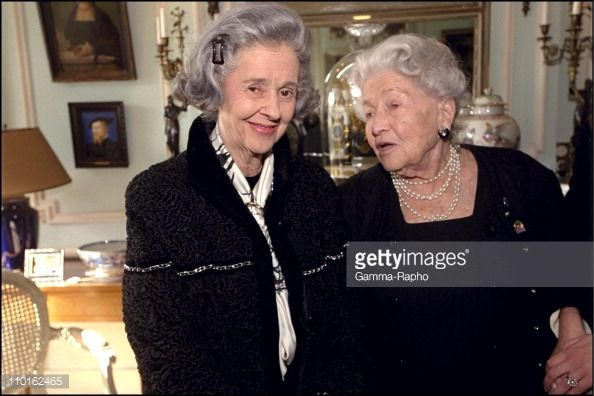 countess of paris | News Photo : Queen Fabiola of Belgium and Countess of Paris at...