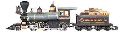 Locomotives 122576: Bachmann 81487 G Eureka And Palisade Spectrum 2-6-0 -> BUY IT NOW ONLY: $774.99 on eBay!
