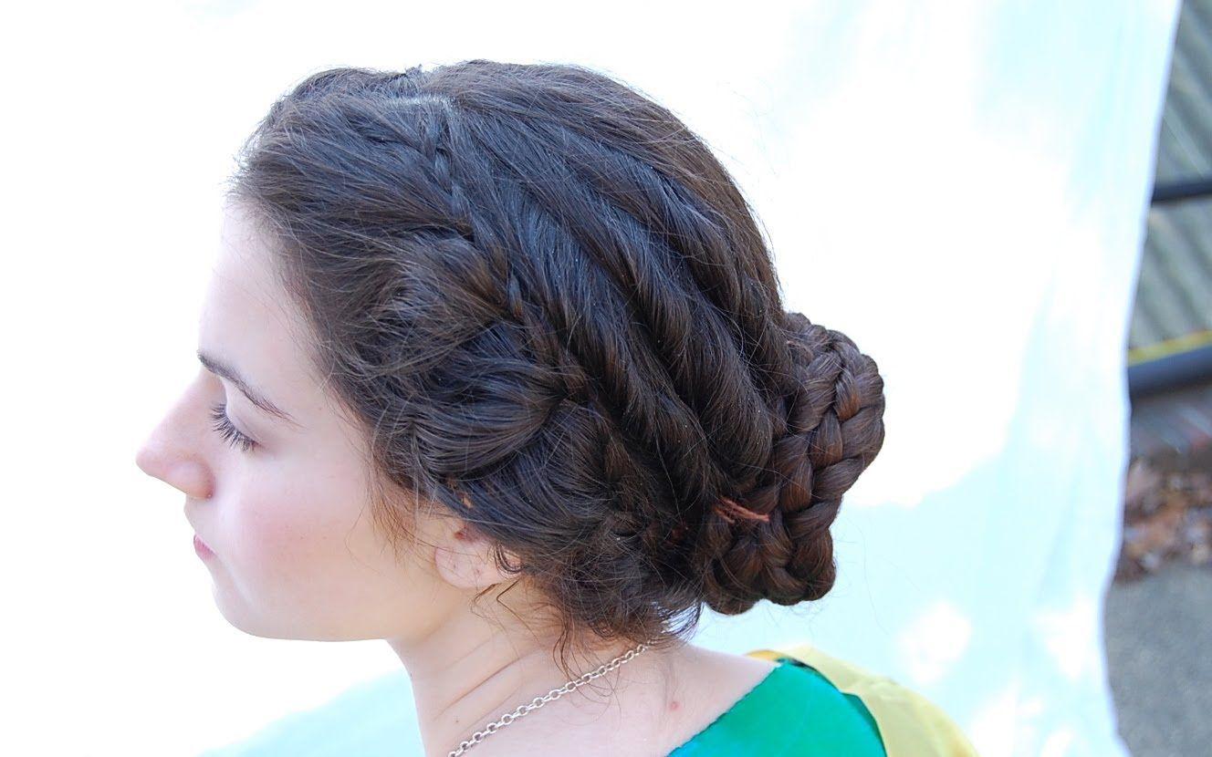 The Hairstyles Of Faustina The Younger Empress Of Rome Haar Styling Mittelalterliche Frisuren Historische Frisuren
