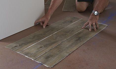 vinyl tile installation