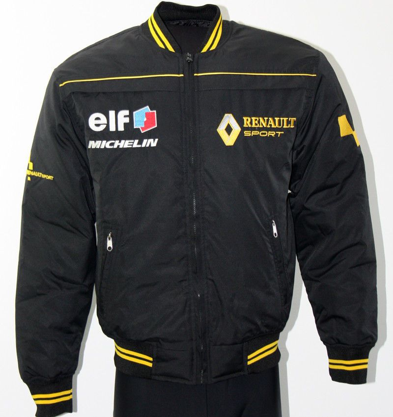 huge selection of dc477 5f436 Renault Racing Jacke / jacket Gesticktem Logo und Buchstaben ...