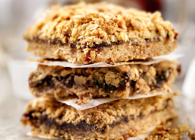 Best Ever Date Bars With Crumbly Oat Crust
