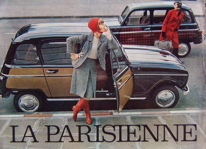Publicit Renault 4l Parisienne 1963 Renault 4 Pinterest Cars