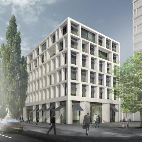 max dudler architekt stadtquartier schwabinger tor m nchen max dudler pinterest facades. Black Bedroom Furniture Sets. Home Design Ideas