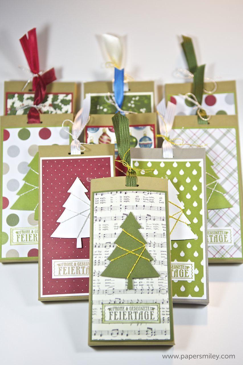weihnachts schoko verpackung mit produkten von stampin up stampin up weihnachten. Black Bedroom Furniture Sets. Home Design Ideas