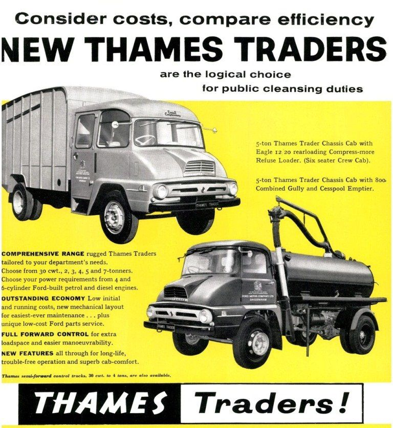 Ford Thames Traders 1958 | Thames | Pinterest | Ford, Commercial ...