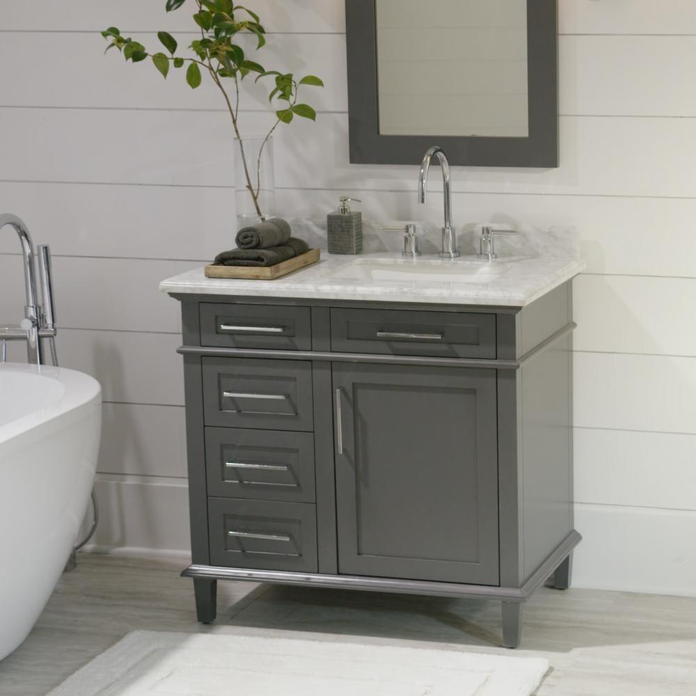 Home Decorators Collection Sonoma 36 in. W x 22 in. D Bath ...