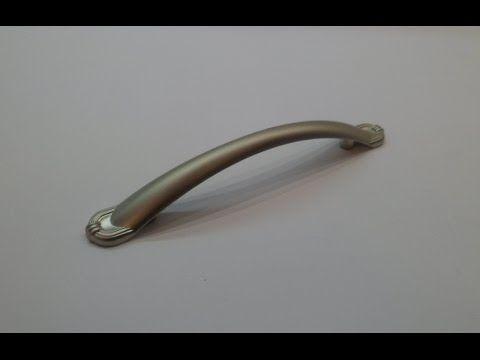 Мебельная ручка UG32 0096 G0006 сатиновый никель Gamet