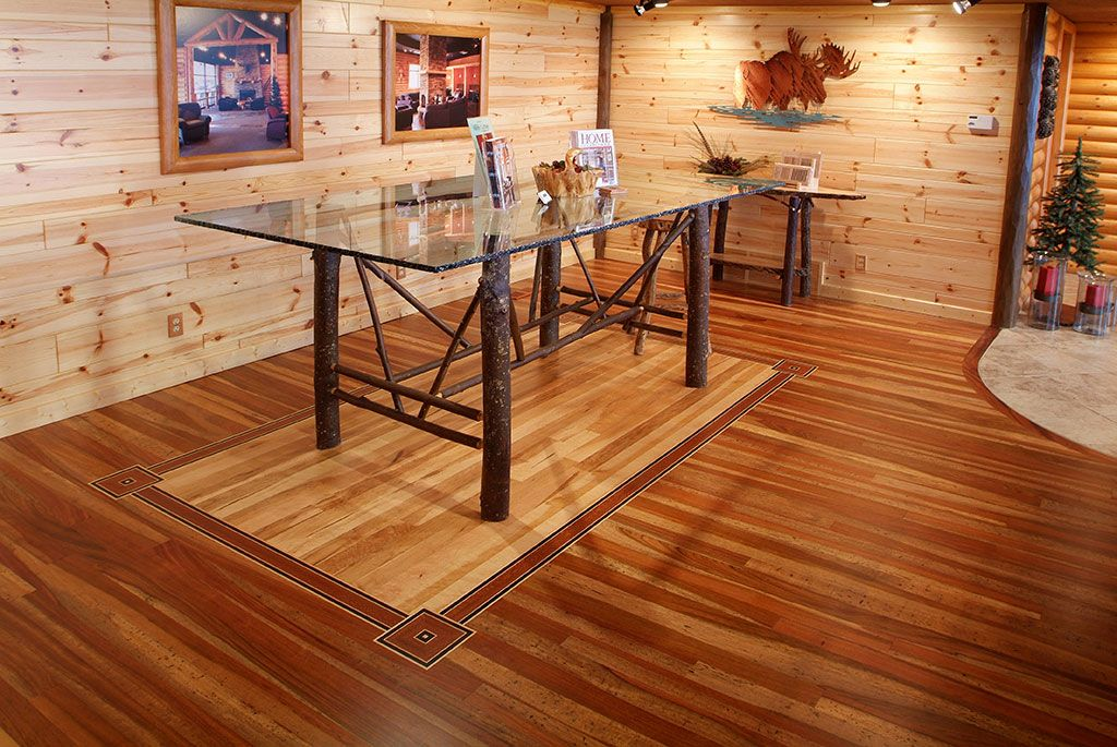 Tongue Groove Mountain Cherry Hardwood Floor With Center Birdseye Maple Cherry Tongue And Groove Wainscoting Cherry Hardwood Flooring