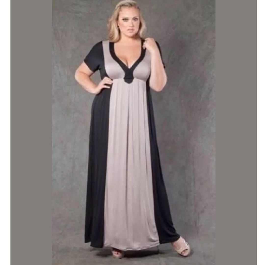stunning maxi dress for plus size women for winter maxi
