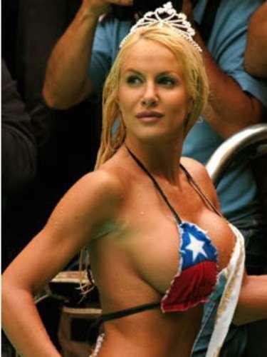 luciana salazar hot en topless