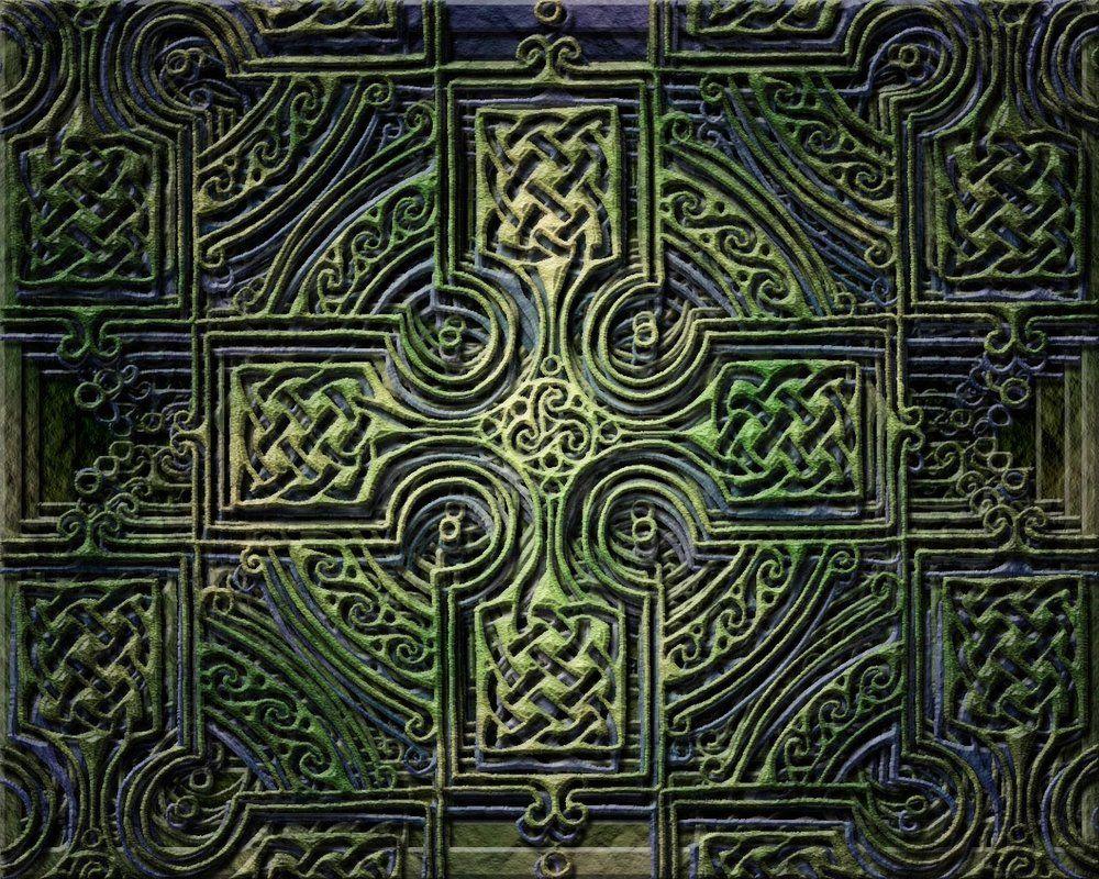Celtic Tree Of Life Cross