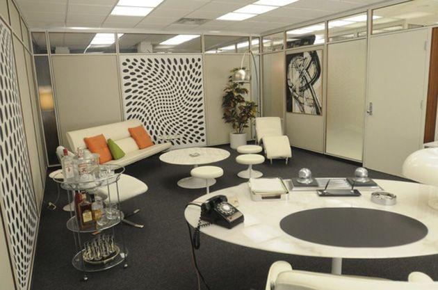 Mad Men Rogers New Office Mad Men Interior Design Mid Century Modern Design Interior Design Studio