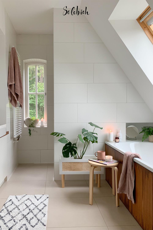 Baden Mit Ausblick 11 Inspirierende Ideen Fur Badezimmer Mit Dachschrage Badezimmer Dachschrage Badezimmer Wohnen