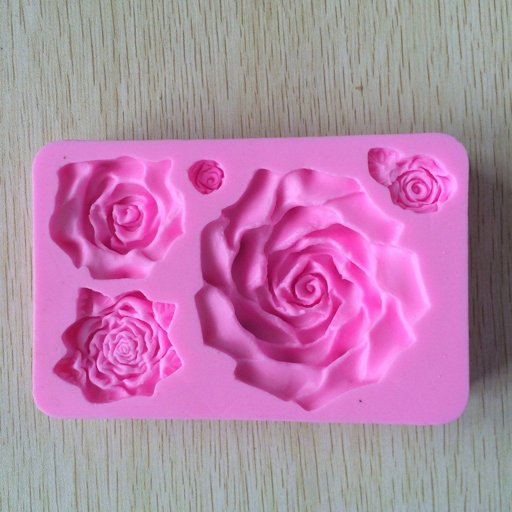 Silicone Cake Molds 3d Big Rose Flower Cake Mold Tools Cake Decorating Cake Molds Silicone Soap Molds Silicone Molds
