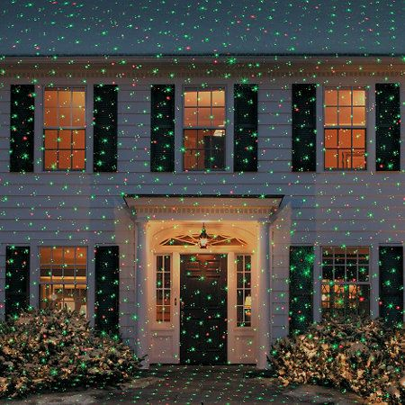 Ultimate Motion Color Laser Christmas Light Projector Christmas
