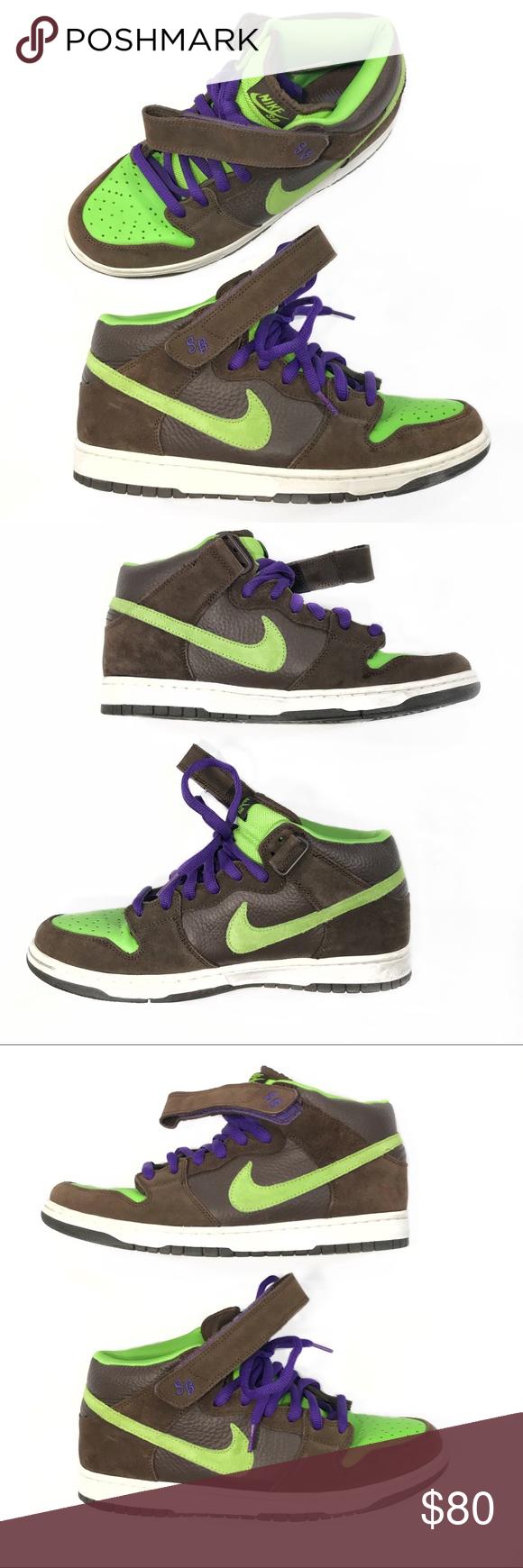 01351c6aa26 Nike SB Dunk Mid Pro Donatello Brand  Nike Sb Item name  Donatello Style  number