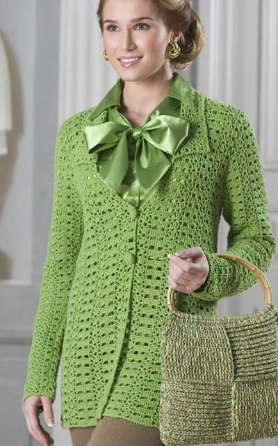 Cardigans Gilets Au Crochet Veste En Crochet Modèle