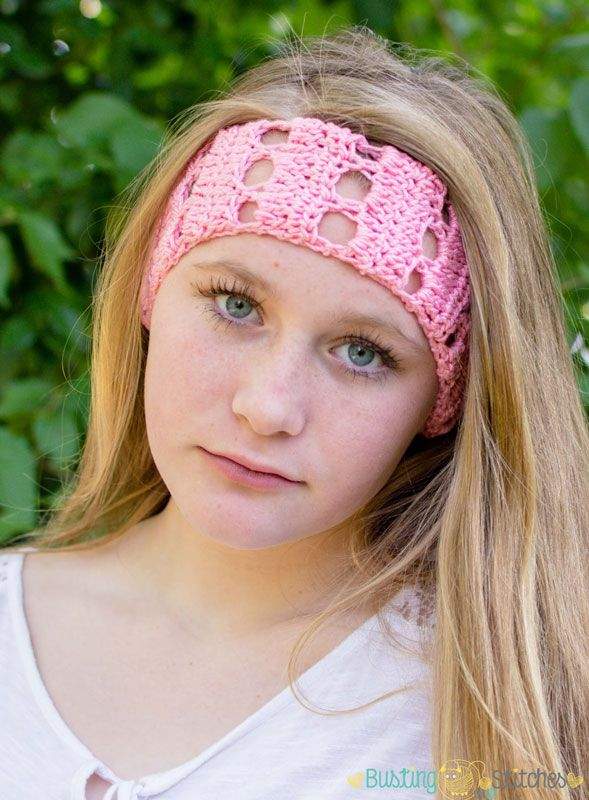 Pink Headband {Free Crochet Pattern!}   Pinterest