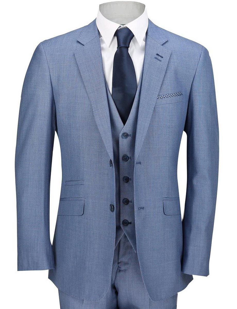 Light blue three piece suit three piece suits blue suit men and